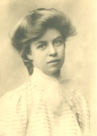 1898, Eleanor Roosevelt, just 14 years old. Franklin D. Roosevelt Presidential Library and Museum.