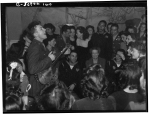 1944, CIO Canteen Opening. ER with Pete Seeger, 1944. Joseph A. Horne photographer, Library of Congress.