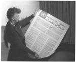 1949, The Universal Declaration of Human Rights. United Nations: Franklin D. Roosevelt Presidential Library and Museum.